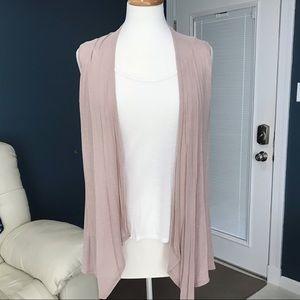 One Piece Sleeveless Vest w/ Tank Lace Back Large